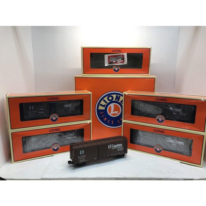 Lionel 6-81605 O 40' PS-1 Boxcar 5pk SF