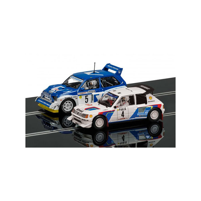 Classic Collection Peugeot 205 T16 E2 & MG Metro 6R4