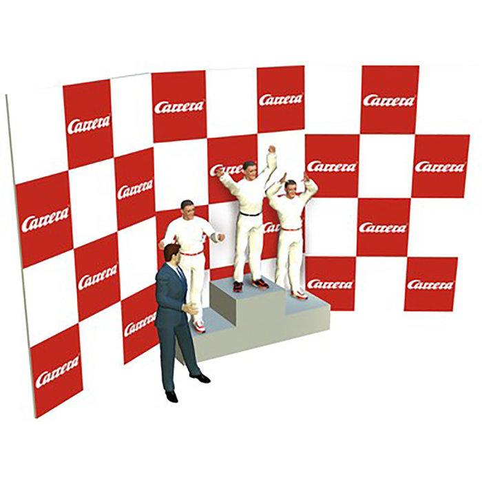 Winners Rostrum With Figures, 1:32