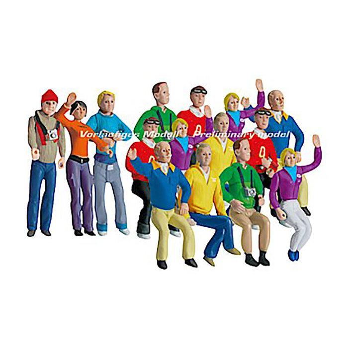 Set of figures, fans