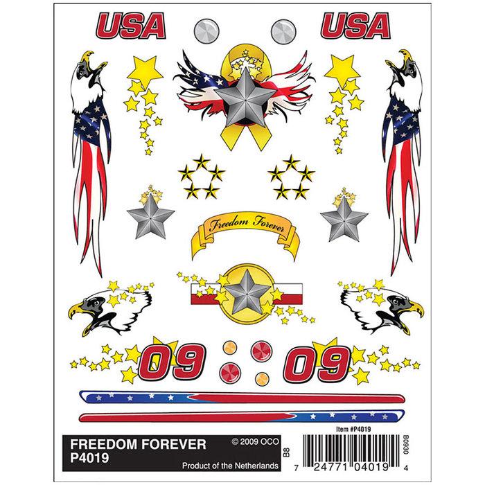 Freedom Forever Dry Transfer
