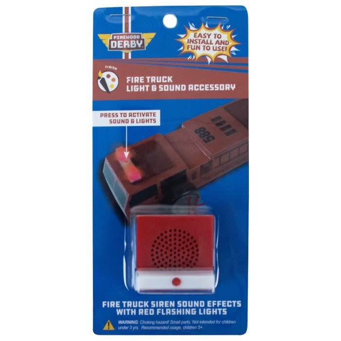 Derby Fire Truck Light And Siren Kit