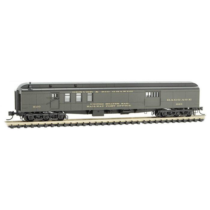 N 70' Heavy Mail Car D&RGW Rd# 620