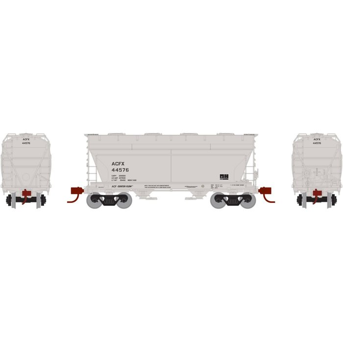 N ACF 2970 Covered Hopper, ACFX #44576