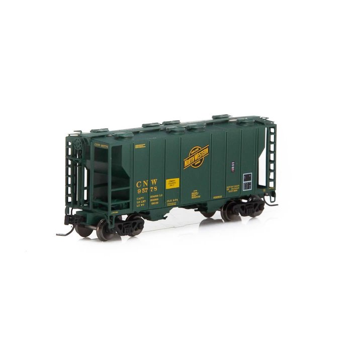 N PS-2 2600 Covered Hopper, C&NW #95778