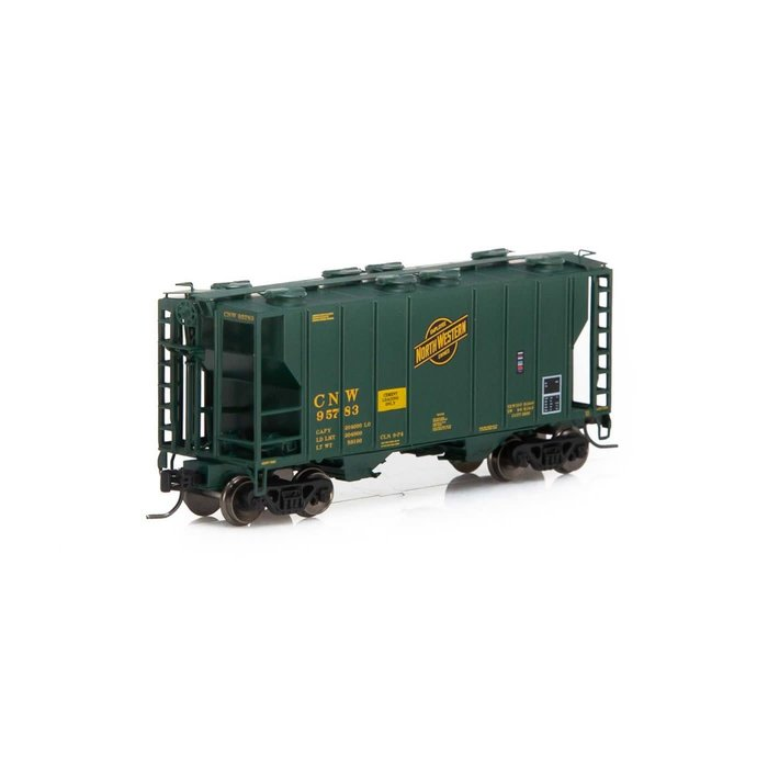 N PS-2 2600 Covered Hopper, C&NW #95783