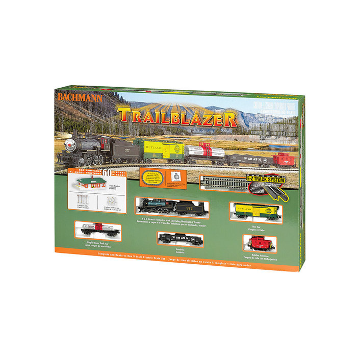 N Trailblazer Freight Set//4-6-0