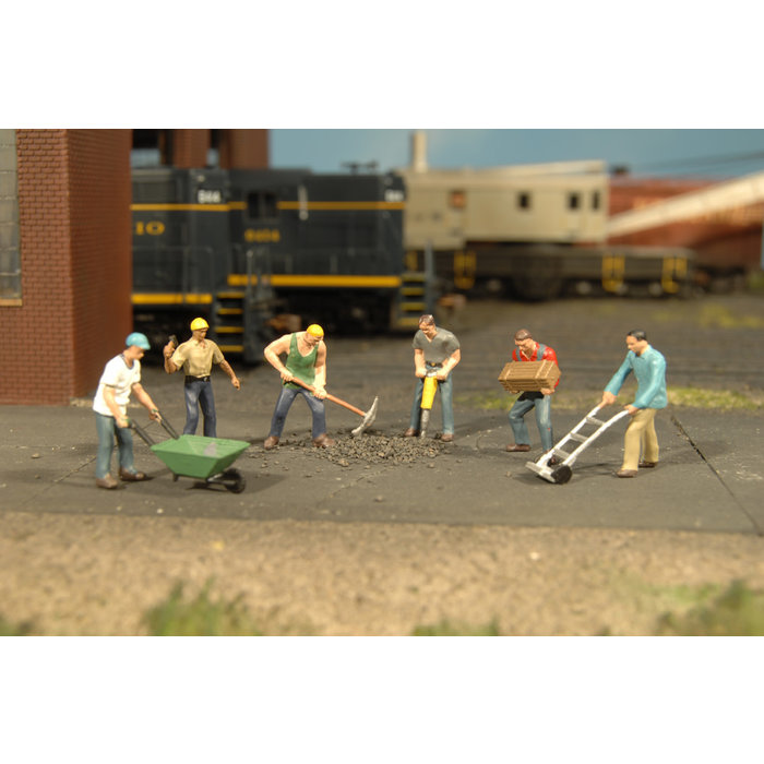 O Construction Workers/6pc