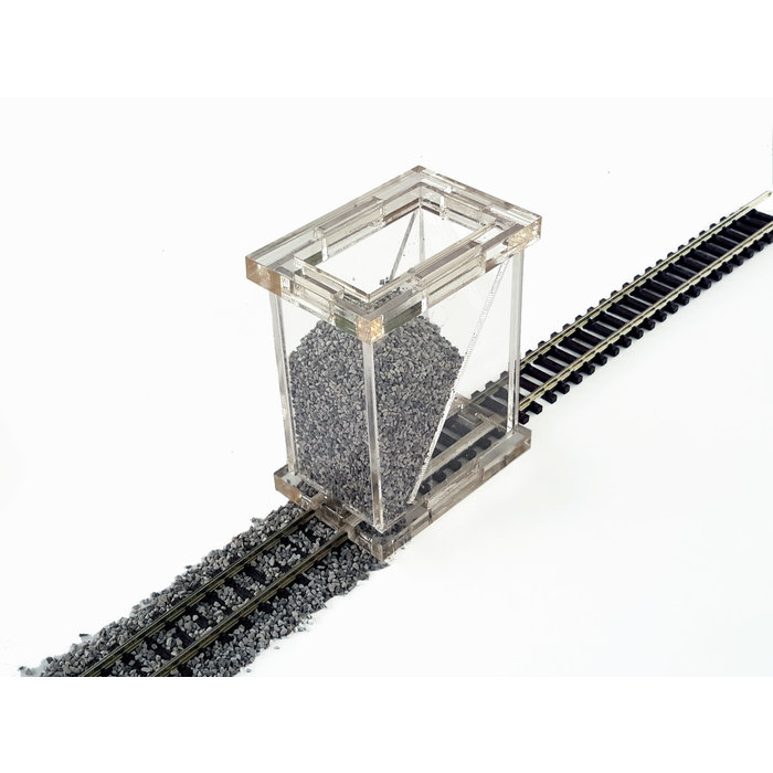 O  3-Rail Ballast Spreader