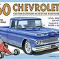 1960 Chevy Custom Fleetside Pickup w/Go Kart 2T Skill 2