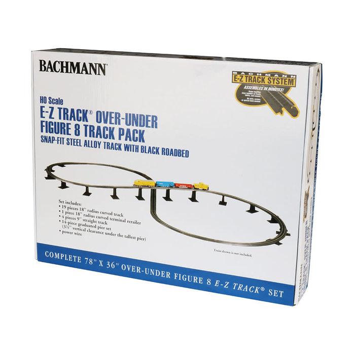 HO EZ Track Steel Over-Under Figure 8 Track Pack