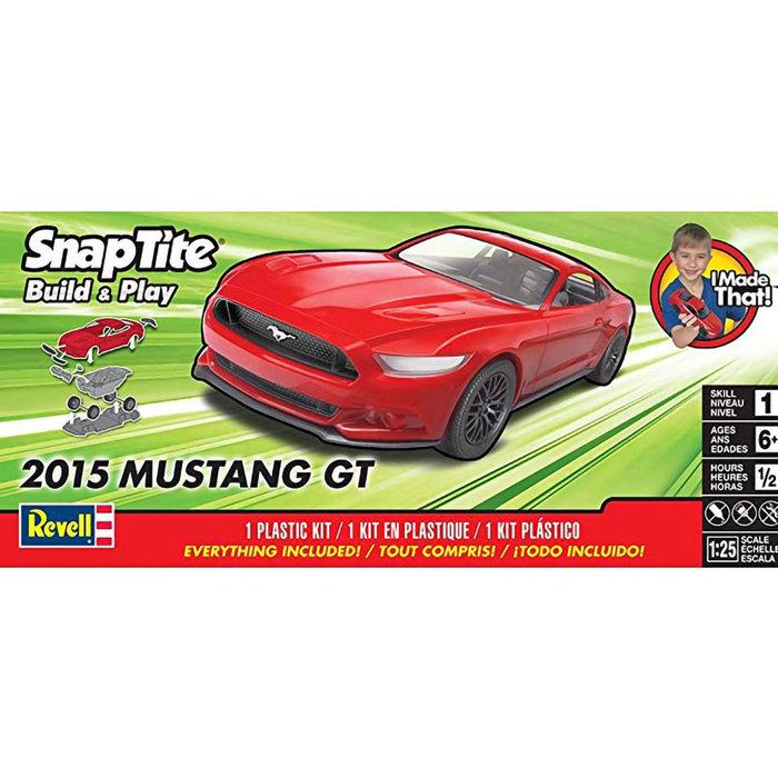 SNAP 2015 Mustang Gt sk1 red