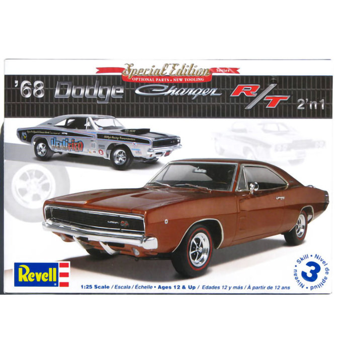 68 Dodge Charger 2n1 1/25