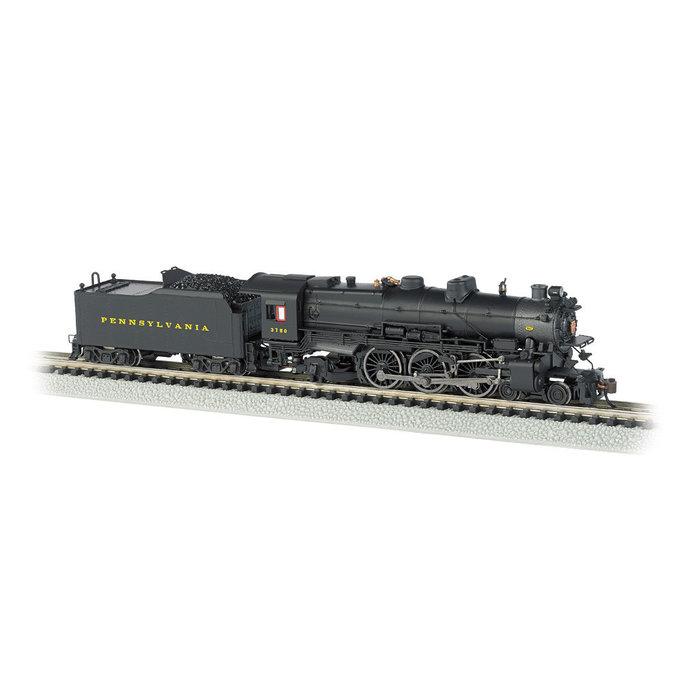 N 4-6-2 K4 Steam Loco PRR #3750/Postwar w/Modern Pilot