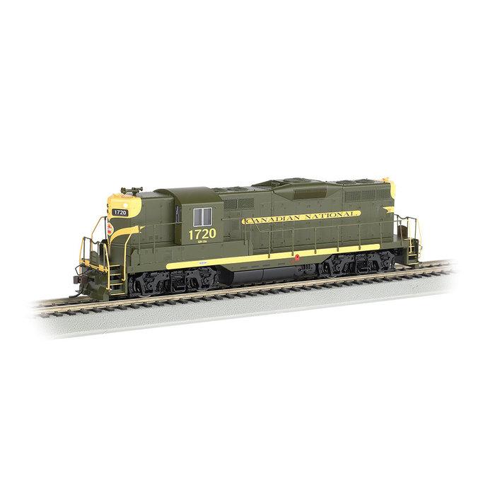 HO GP9 Diesel CN #1720/grn&yel/DCC