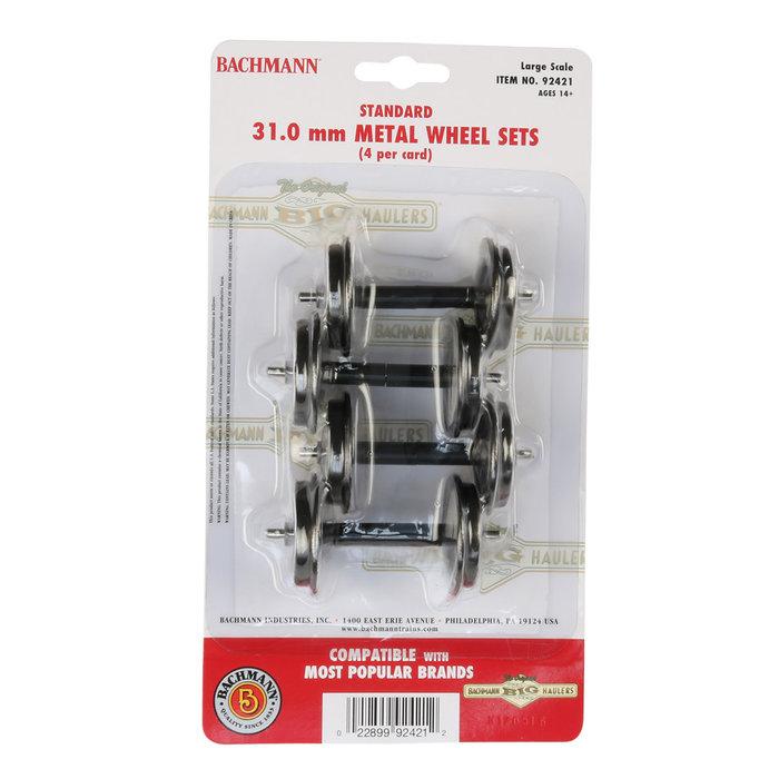 G 31mm Large Metal Wheel Set/4pk