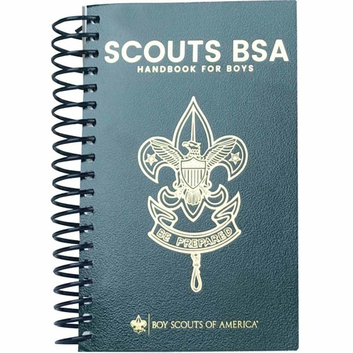 Scouts BSA 14th Ed Coil for boys