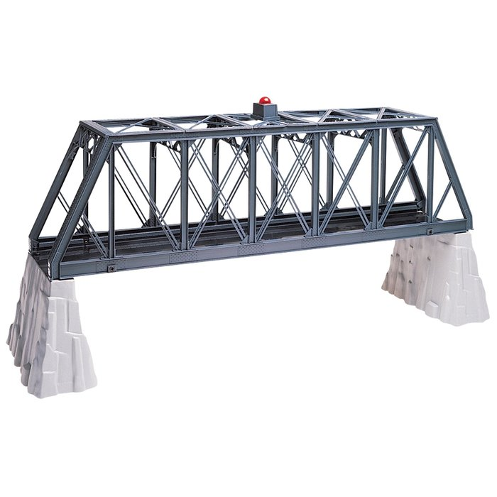 O-27 Truss Bridge w/Flasher