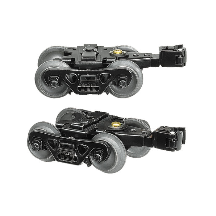 O DC Sprung Trucks w/Rotating Caps