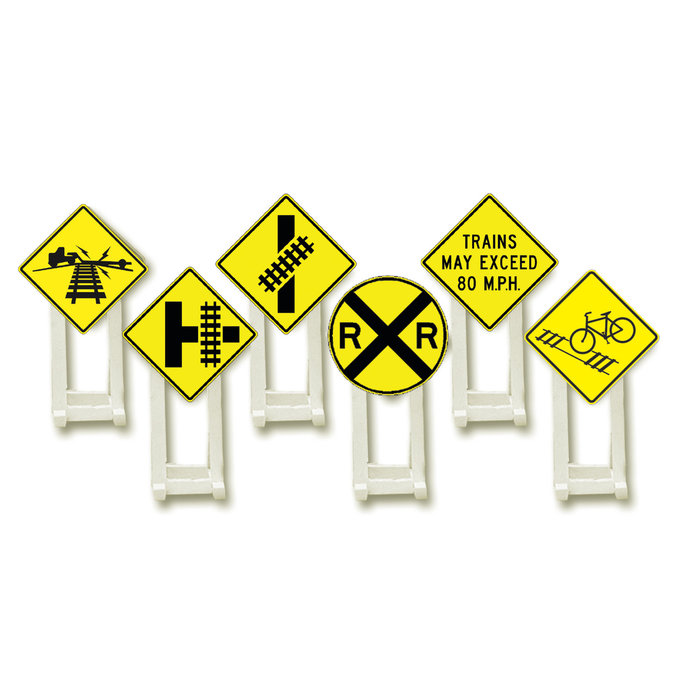 O Railroad Crossing Signs