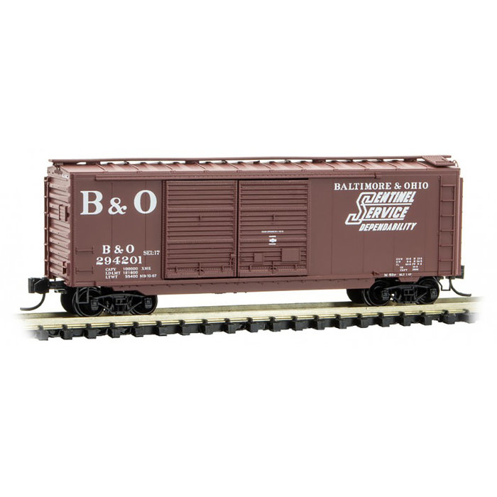 N 40' Box Car #294201 B&O
