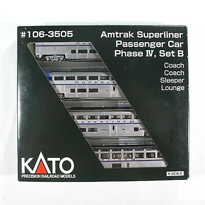 N Superliner 4 Car Set Phase 4 Set b Amtrak