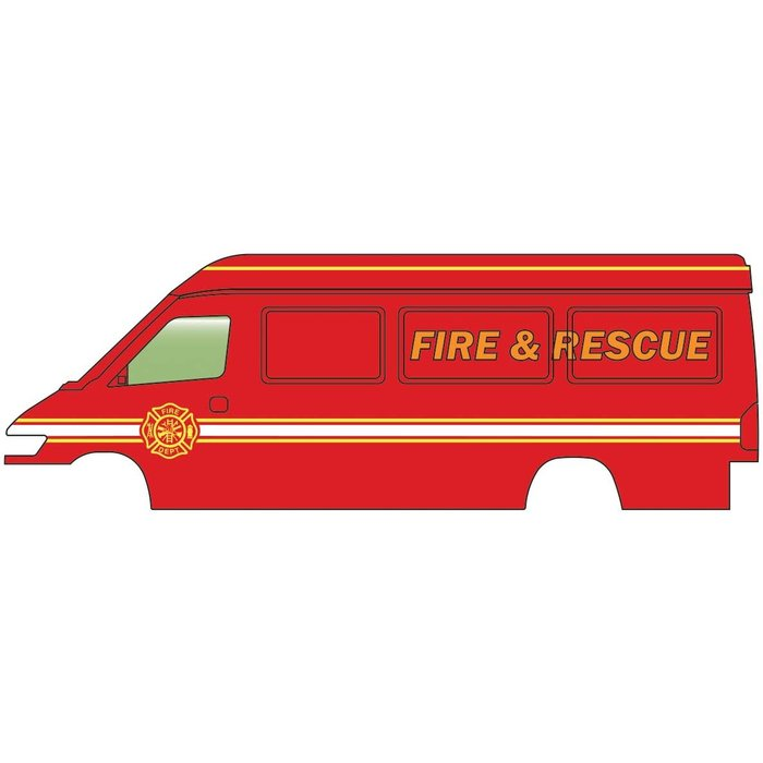 HO Service & Delivery Vans Fire & Rescue