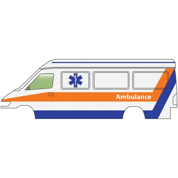 HO Service & Delivery Vans Ambulance