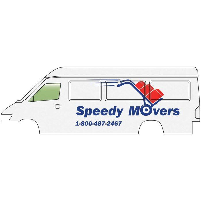 HO Service & Delivery Vans Speedy Movers