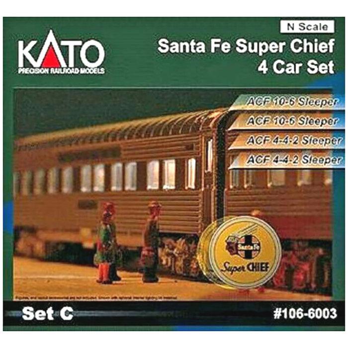N SF 'Super Chief' 4-Car Add-On Set