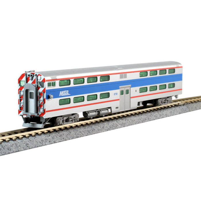 N Pullman Bi-Level 4 Window Coach, Metra #7836