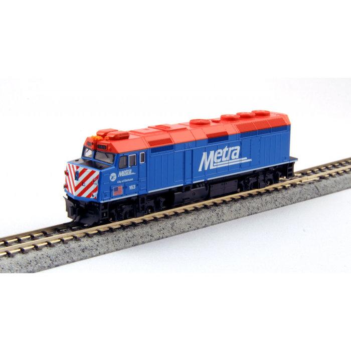 N F40PH Diesel Chicago Metra #142 Ravina