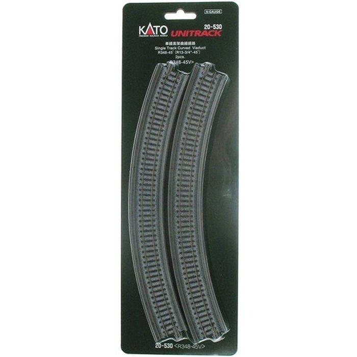N R348-45 Curved Viaduct/2pc