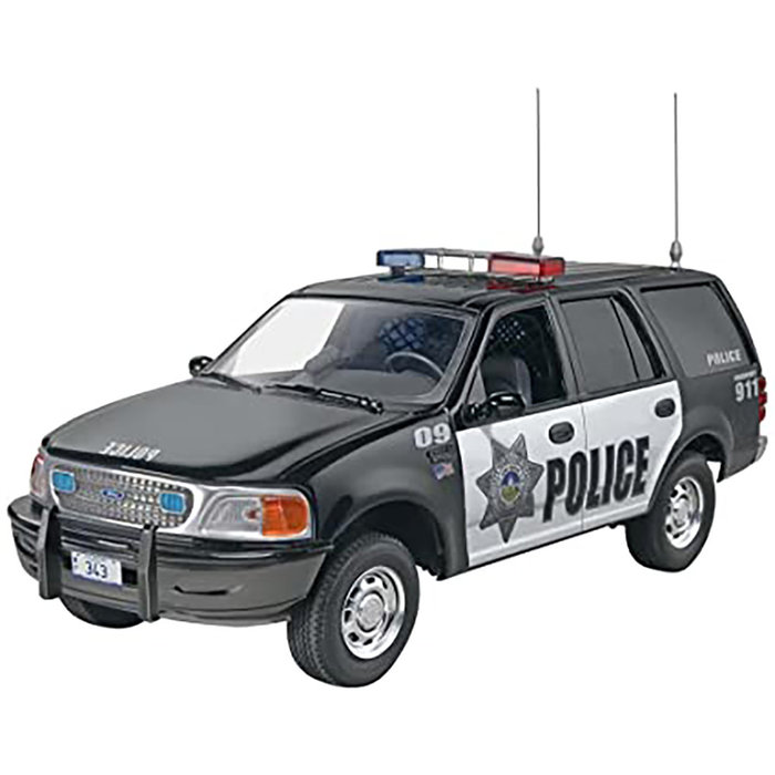 Ford Expedition Police SUV sk2