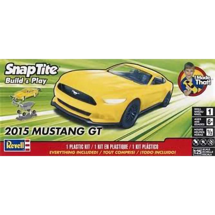 SNAP 2015 Mustang Gt sk1 yellow