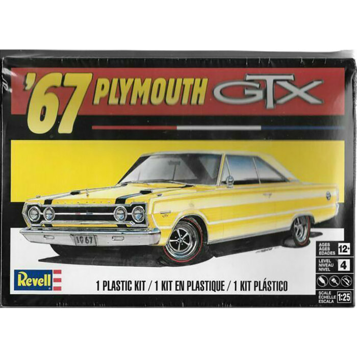 67 Plymouth Gtx Skill 4