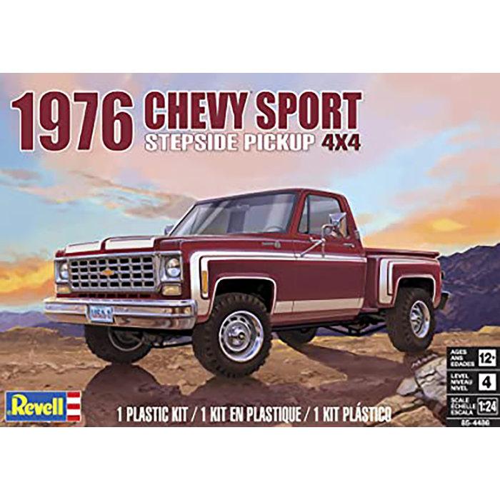 76 Chevy Sport Stepside Pickup 4x4