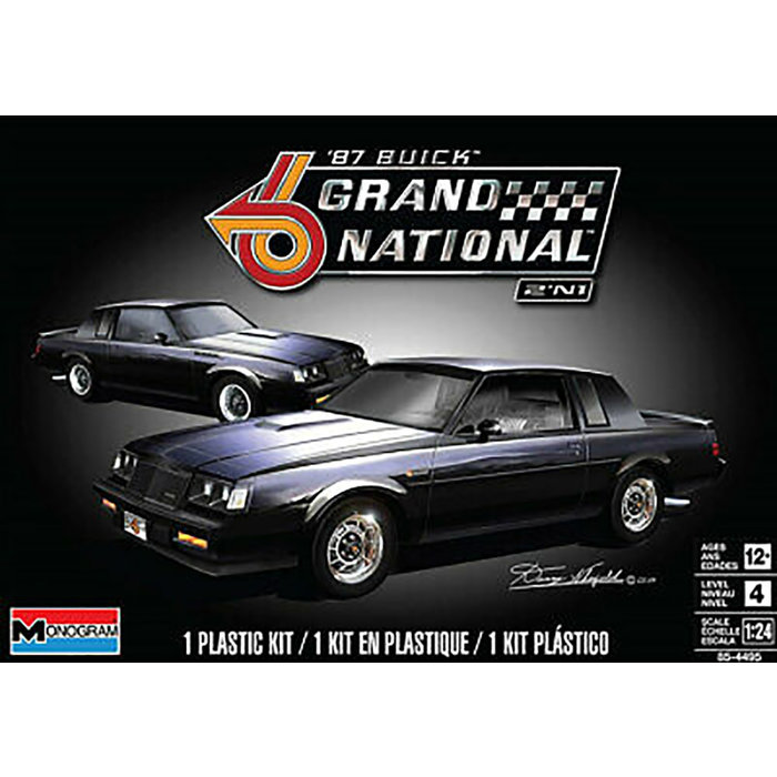 1/25 Buick Gran National 2n1 Skill 4