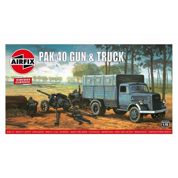 Opel Blitz & Pak 40 Gun Kit