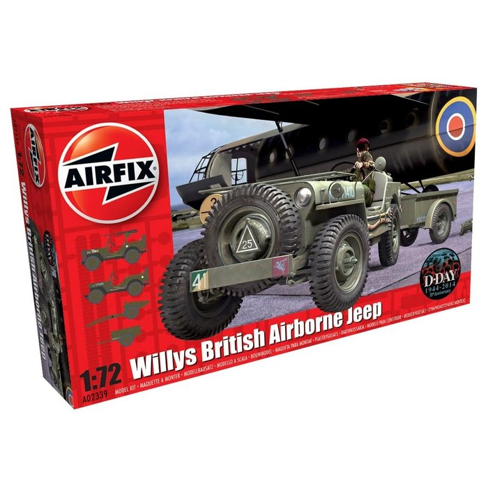 Willys Jeep  Trailer & Howitzer Kit