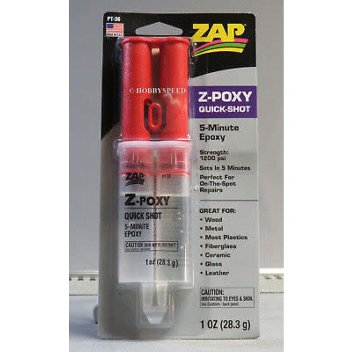 Z-Poxy Quick-Shot/5 Min. 1oz