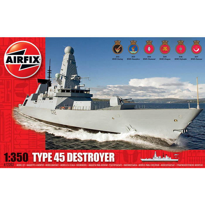 1:350 Type 45 Destroyer
