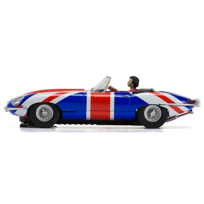 Jaguar E-Type - Union Jack, 1961