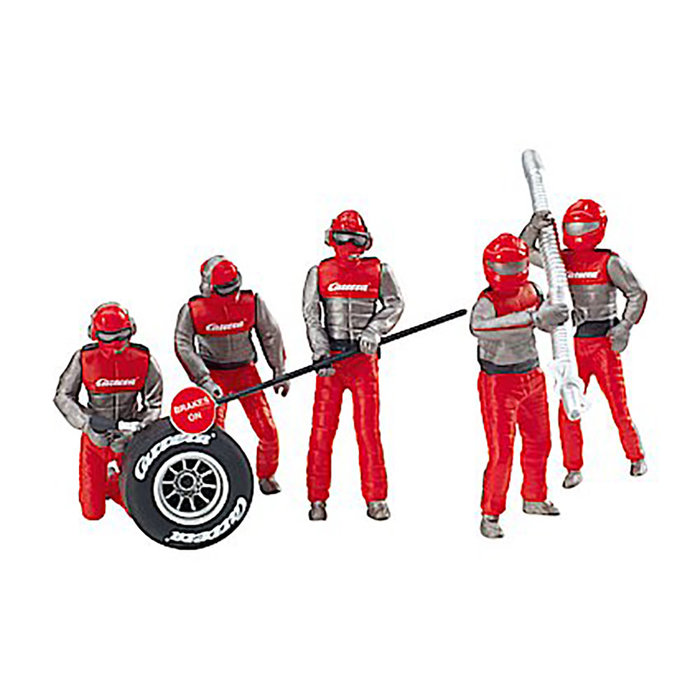 Set of Figures mechanics Carrera Crew