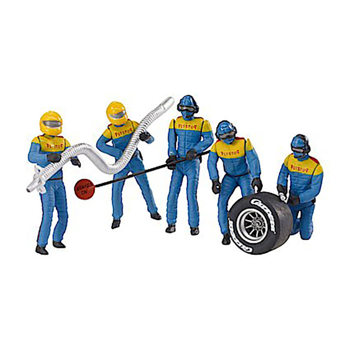 Set of Figures  Mechanics, Blue