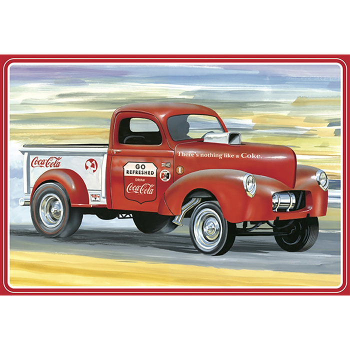 1940 Willys Pickup Gasser (Coca-Cola) 2T Skill 3