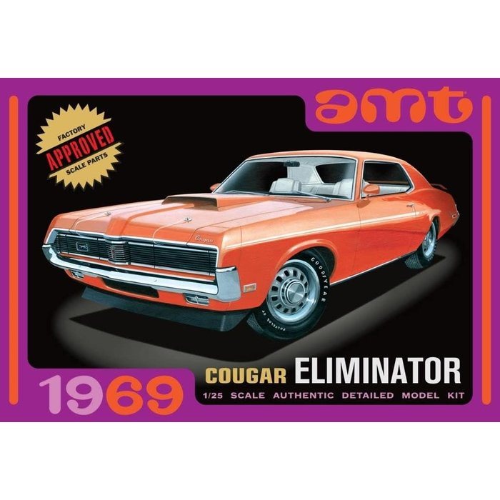 1969 Mercury Cougar  Orange