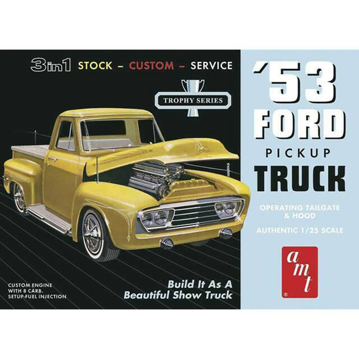 1:25 1953 Ford Pick Up