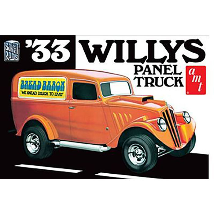 1:25 '33 Willys Panel Truck