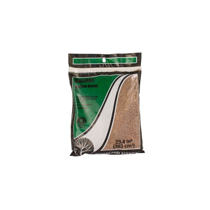 Medium Ballast Bag, Brown